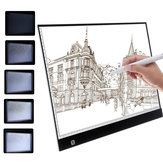 A3/A4 LED Copy Board Art Craft Drawing Tracing Tatuaje Luz Caja Pad + Cable USB
