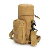 KCASA KC-BC05 Bouteille d'eau Molle Carrier Travel Climb Outdooor Ceinture Sacoche Tactical