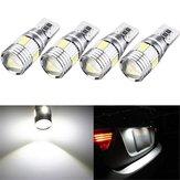 T10 W5W 5630 LED Araba Yan Işaretleyici Işıklar Canbus Hata Ücretsiz Kama Ampul Lamba 12 V 2.5 W Beyaz 4 Adet