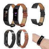 Bakeey Leather Watch Banda Substituição da pulseira para Huawei band 4 Honor 5i Smart Watch