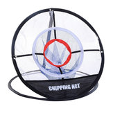 MeshНаоткрытомвоздухеIndoorGolf Training Net Chipping Pitching Practice Net Cage Portable Hitting Aid