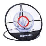 Malhadetreinamentodegolfeao ar livre Indoor Net Chipping Pitching Prática Net Cage Portátil Batendo Ajuda