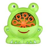 Automatische Blasenmaschine Big Frog Bubble Maker Gebläse Musik Bad Spielzeug für Kinder