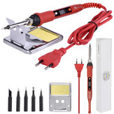 JCD 908S 220V 80W LCD Electric Welding Soldering Iron Adjustable Temperature Solder Iron With Soldering Iron Tips