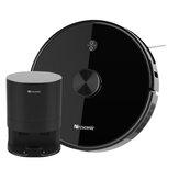 Proscenic M7 Pro Робот-пылесос Лазер Navigation 2700pa Всасывающий робот пылесборник Collecto для дома и автоматическая всасывающая станция