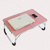 Podwójnie składany stół na biurko na laptopa Przenośny składany stół piknikowy na zewnątrz Biurko na laptopa Stół do pisania na laptopa Meble do biura domowego