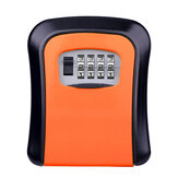Wall Mounted 4-Digit Combination Lock Key Safe Storage Box Home Gate Coffer