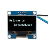 Geekcreit® 1.3 pollici 4Pin Bianco OLED LCD Display 12864 IIC I2C Interfaccia Modulo per Arduino