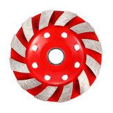100mm Segment Diamond Grinding Wheel Disc Concrete Masonry Stone Marble Sanding Wheel Red