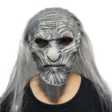 Halloween Scary Night King Zombie Latex Masks Party Costume Props Cosplay The White Walkers Mask