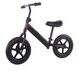 12 inch Kids Bike No Pedal Toddler Balance Bike Beginner Rider Training Children Scooter Bicycle For Ages 2/3/4/5 Year Old
