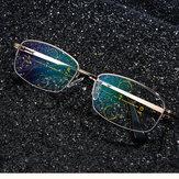 KCASA ذكي نظارات القراءة التقدمي البؤري عدسة الشيخوخي سبيكة إطار مكافحة التعب