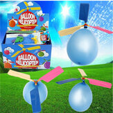 Kleurrijke Traditionele Classic Balloon Helicopter Portable Flying Toy