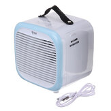 Bærbar bordkølerventilator Home 2 hastigheder USB Mini Atomization Air Conditioner
