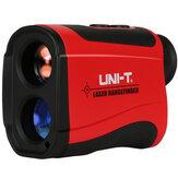 UNI-TLM600600MЛазерИзмерительрасстояния для дальномера дальномер Монокулярный телескоп Speed Tester Hunting Golf На открытом воздухе