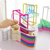 Suporte de Oraganizer de Clothespin Multifuncional de Rack de roupa criativa cabide armazenamento Rack