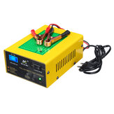12V / 24V 15A Auto Lead Acid Battery Charger Intelligente Pulse Repair LCD voor auto motorfiets