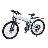 [EU DIRECT] Bezior M26 10Ah 48V 500W Folding Moped Electric Bicycle 26inch 30Km/h Top Speed 80km Mileage Range Max Load 150kg