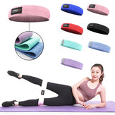Multi-Colors M-XL Home Resistance Bands Hip Training Fitness Yoga Stretch Pull Up Assist Bands Rubber Band