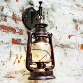Vintage Retro Thrift Wall Lamp Lantern Montage Sconce European Lights