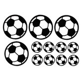 12Pcs/Set Football Soccer Wall Stickers Children Nursery Kids Room Decals Gift Home Decorations