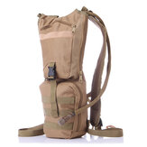 Men Nylon C amelbak Backpack Tactical Hydration Pack with 3L Bladder for Hiking, Biking, Climbing
