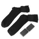 Winterbatterij Oplaadbare elektrisch verwarmde sokken met elastische gezondheidsvoeten Warmer thermische sokken voor ski-buitensporten