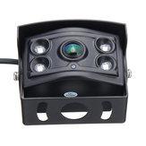 4 Pin CCD 150 ° 4 LED Visión nocturna Impermeable Coche Vista trasera Cámara Para camión