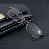 Aluminum Alloy Reading Glasses Resin Lens Presbyopic Glasses