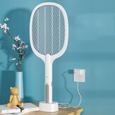 2-in-1 Electric Mosquito Swatter USB Rechargeable Handheld Killing Mosquito Insect Fly Zapper