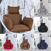 Hammock Chair Seat Cushion Hanging Swing Seat Pad Chair Bed Back Pad Chair Pillow Home Office Furniture Decorations