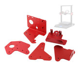 CR-10S PRO Support Plate Set Extruder XZ-Axis Back to Plate Fixed Plate Front and Back Plate for Creality 3D Printer