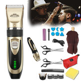 20 unidades masculino elétrico Cabelo aparador cortador sem fio barbeiro barbeador kit corte Cabelo
