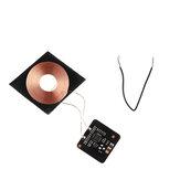 5 V 0.6A 3 W Qi Standard Sans Fil De Charge DIY Bobine Récepteur Module Circuit Board Bobine De Charge Sans Fil pour Téléphone Intelligent