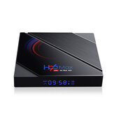 H96 Max H616 2GB RAM 16GB ROM 5G Wifi bluetooth 4.0 Android 10.0 4K 6k UHD 3D stereoskopowe VP9 H.265 Wsparcie TV Box Asystent Google 4K Youtube HD Netflix