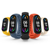 [Global Version]Xiaomi Mi Band 6 1.56 Inch 326 PPI AMOLED Retina Screen Wristband Heart Rate Blood Oxygen Monitor 130+ Watch Faces 30 Sports Modes 5ATM Waterproof BT5.0 Smart Watch