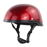 CYCLEGEAR Kask ochronny pół twarzy Retro regulowana czapka Anti UV Rowerowa jazda na rowerze motocykl skuter Ochrona przed słońcem