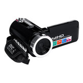 4K Full HD 1080P 24MP 18X Zoom 3 Inch LCD Filmadora digital Vídeo DV Camera 5.0MP CMOS Sensor para YouTube Vlogging