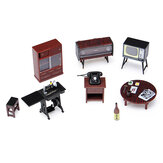 1:24 Vintage Miniature Japanese Style Furniture Play Dollhouse Toys for Kids