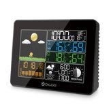 湿度計 温度計天気 Digoo DG-TH8868 ワイヤレス  フルカラーデジタル  屋外気圧測量ステーション  予測クロック