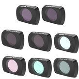 URUAV Camera Lens Filter Combo Set UV/CPL/ND4/ND8/ND16/ND32/STAR/NDPL/Night for DJI Mavic Air 2 RC Drone
