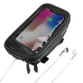 Touch Screen Phone Waterproof Bag Large Capacity Waterproof Frame Front Tube Handlebar Cycling Bicycle