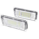 2PCS LED Licencia Placa Luz para BMW 3 Series 325i 328i 318320 E46 2D M3 Lifting facial