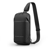 Original              Kingsons Anti-theft Crossbody Bag with USB Charging Port Waterproof Chest Pack Sling Bag Shoulder Chest Bag