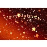 3x5ft Vinyl Foto Achtergronden Merry Christmas Photography Achtergrond Studio Props