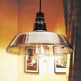 Retro Bar plafoniera pendent lampada industriale epoca bulbo in vetro tubo edison soggiorno