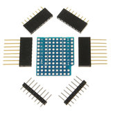 10Pcs ProtoBoard Shield Expansion Board For D1 Mini Double Sided Perf Board Compatible