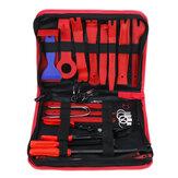 38 pezzi Set di strumenti per la rimozione di finiture per auto a mano Strumenti Kit per interni con clip per pannello con barra di leva
