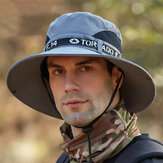 حاجب الحماية من الشمس قبعة الصيد في الهواء الطلق الصيف قبعة التجفيف السريع القبعات دلو قبعة تنفس