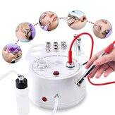 3 in 1 Diamond Microdermabrasion Dermabrasion Machine Gesichts-Schönheitsausrüstung für Hautpeeling Verjüngung Heben Anziehen Straffendes Schönheitsgerät Saugkraft 0-55 cmHg